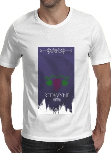 T-shirt short sleeve round neck  Flag House Redwyne