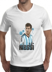 T-shirt short sleeve round neck  Football Legends: Lionel Messi World Cup 2014