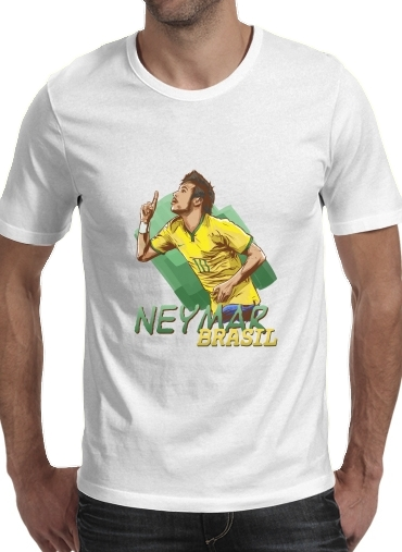 T-Shirts Football Stars: Neymar Jr - Brasil