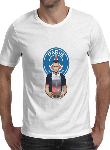 T-shirt short sleeve round neck  Football Stars: Zlataneur Paris