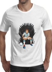 T-shirt short sleeve round neck  Game of Thrones: King Lionel Messi - House Catalunya