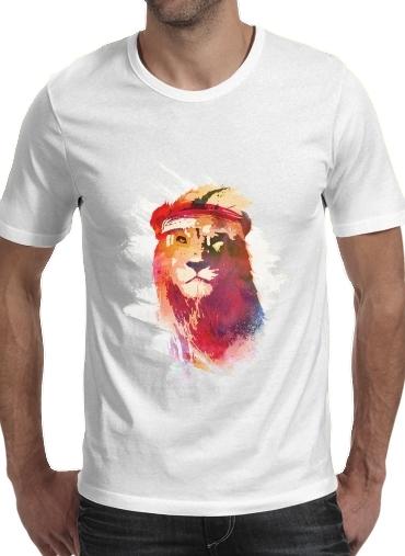 Gym Lion für Männer T-Shirt