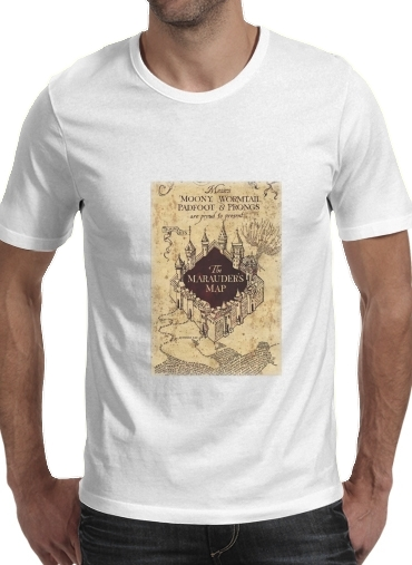 T-Shirts Harry Potter Marauder Map