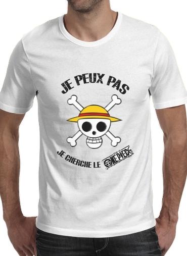 T-Shirts Ich kann nicht, ich suche das One Piece