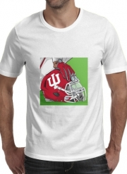 T-shirt short sleeve round neck  Indiana College Football
