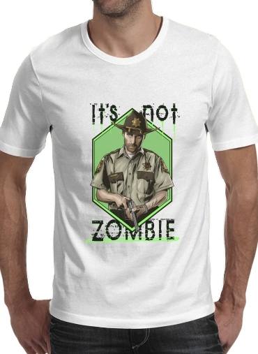 T-shirt short sleeve round neck  It's not zombie