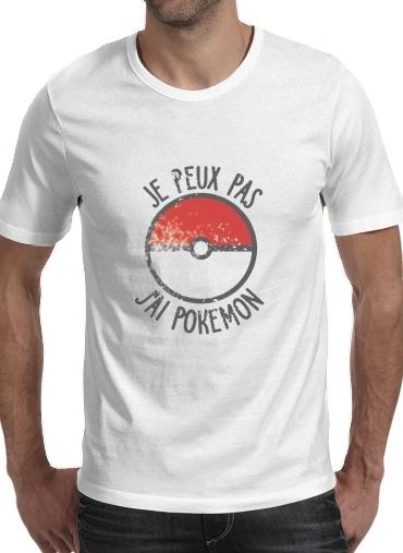 T-Shirts Je peux pas j ai Pokemon