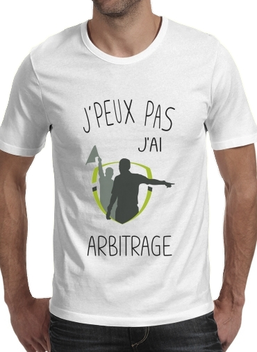 Je peux pas jai Arbitrage für Männer T-Shirt
