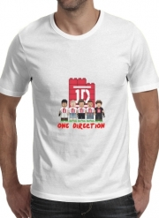 T-shirt short sleeve round neck  Lego: One Direction 1D