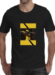 T-shirt short sleeve round neck  Michonne - The Walking Dead mashup Kill Bill