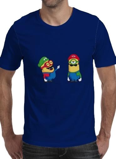 Mini Plumber voor Mannen T-Shirt
