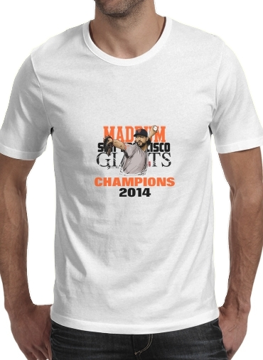 T-shirt short sleeve round neck  MLB Stars: Madison Bumgarner - Giants San Francisco