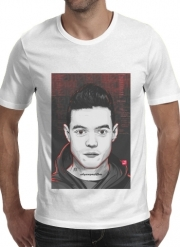 T-shirt short sleeve round neck  Mr.Robot
