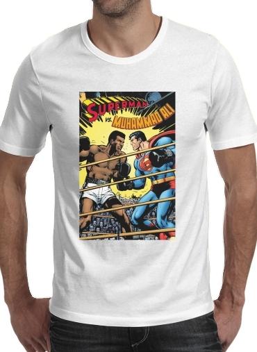 T-Shirts Muhammad Ali Super Hero Mike Tyson Boxen Boxing