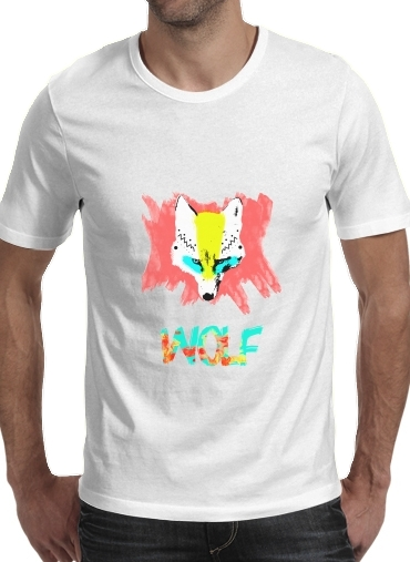 T-shirt short sleeve round neck  WOLF