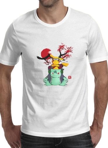 T-Shirts Pikachu Bulbasaur Naruto