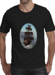 T-shirt short sleeve round neck  Pirate Ship 1