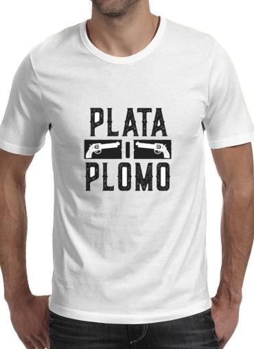 T-Shirts Plata O Plomo Narcos Pablo Escobar