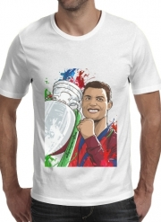 T-shirt short sleeve round neck  Portugal Campeoes da Europa
