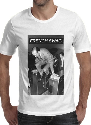 T-Shirts President Chirac Metro French Swag