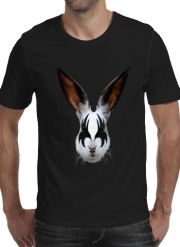 T-shirt short sleeve round neck  Kiss of a rabbit punk