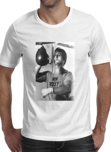 T-Shirts Rocky Balboa Training Punchingball