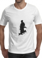 T-shirt short sleeve round neck  Samurai