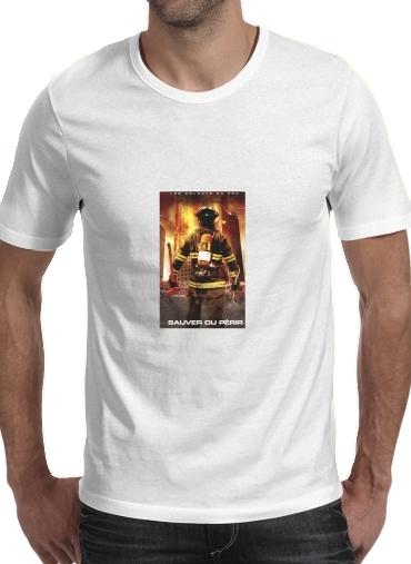 Rette oder vermeide Feuerwehren für Männer T-Shirt
