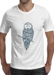 T-shirt short sleeve round neck  Snow Owl