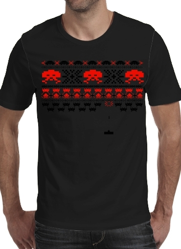 T-shirt short sleeve round neck  Space Invaders