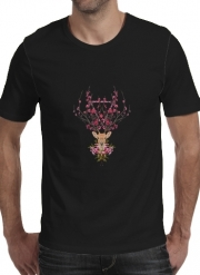 T-shirt short sleeve round neck  Spring Deer