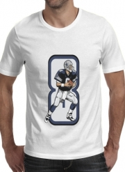 T-shirt short sleeve round neck  The triplets leader QB 8