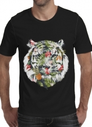 T-shirt short sleeve round neck  Tropical Tiger