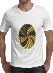 T-shirt short sleeve round neck  Twirl and Twist black and gold