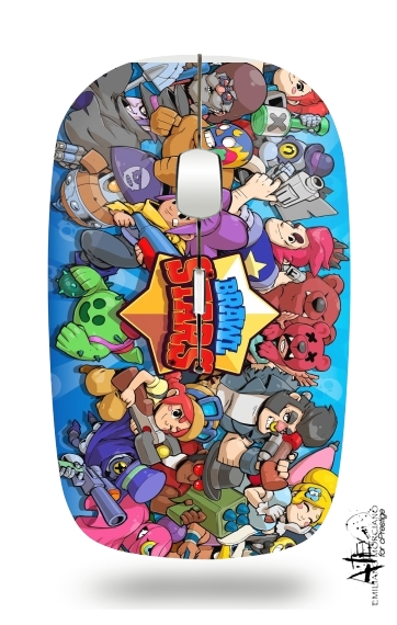 Brawl stars for Wireless optical mouse with usb receiver