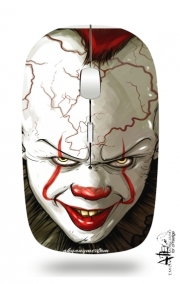 Slim Wireless Mouse Evil Clown