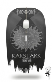 Slim Wireless Mouse Flag House Karstark
