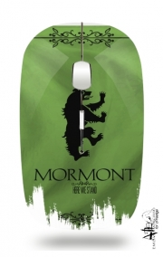 Slim Wireless Mouse Flag House Mormont