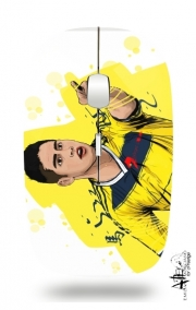 Slim Wireless Mouse Football Stars: James Rodriguez - Colombia