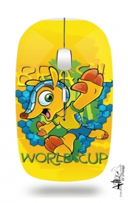 Slim Wireless Mouse Fuleco Brasil 2014 World Cup 01