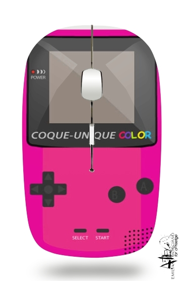 Slim Wireless Mouse Gameboy Color Pink