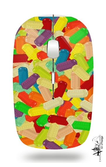 Slim Wireless Mouse Gummy London Phone
