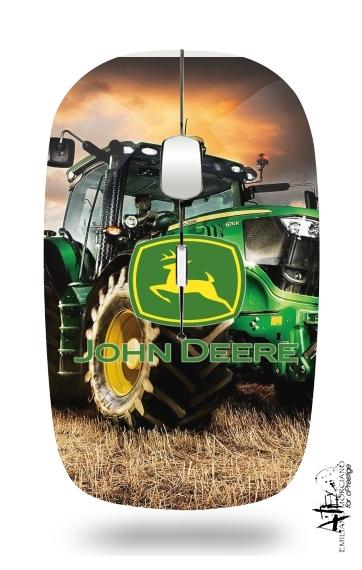 John Deer tractor Farm für Kabellose optische Maus mit USB-Empfänger