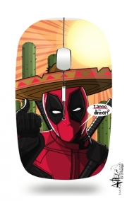 Slim Wireless Mouse Mexican Deadpool