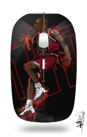 Slim Wireless Mouse Michael Jordan