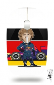Slim Wireless Mouse MiniRacers: Sebastian Vettel - Red Bull Racing Team