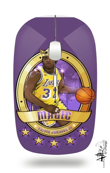 "Slim Wireless Mouse NBA Legends: ""Magic"" Johnson"