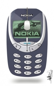 Slim Wireless Mouse Nokia Retro
