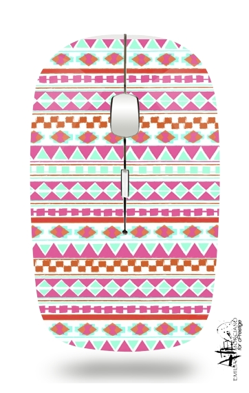 Slim Wireless Mouse PINK NAVAJO