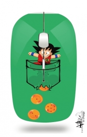 Slim Wireless Mouse Pocket Collection: Goku Dragon Balls